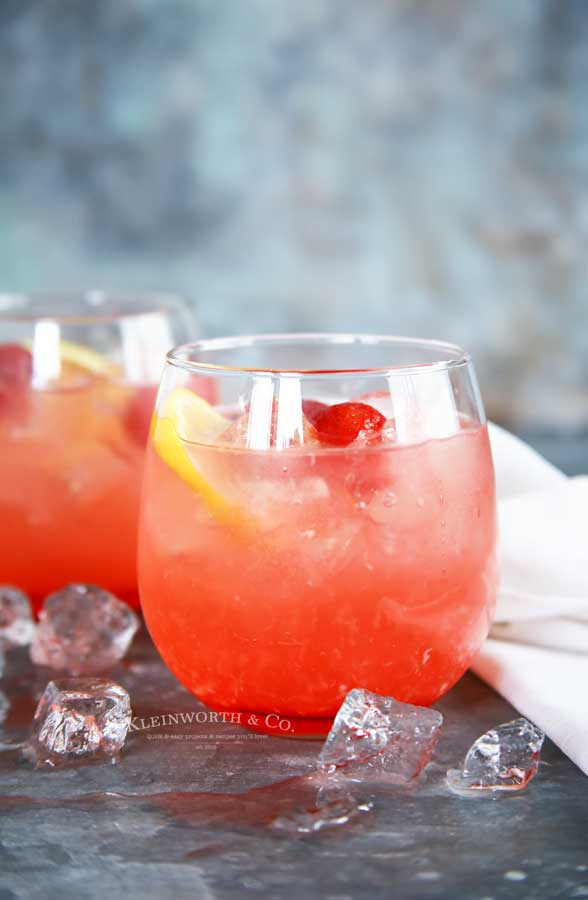 Peach Strawberry Lemonade recipe