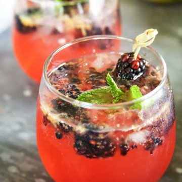 Sparkling Blackberry Lemonade recipe
