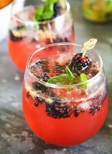 Sparkling Blackberry Lemonade recipe
