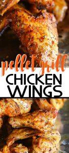 Pellet Grill Chicken Wings