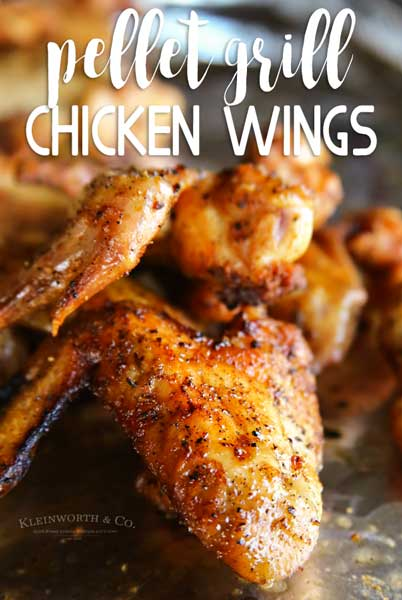 Pellet Grill Chicken Wings