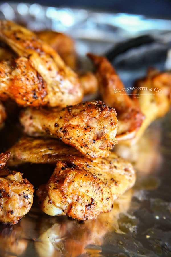 Traeger grill - Pellet Grill Chicken Wings