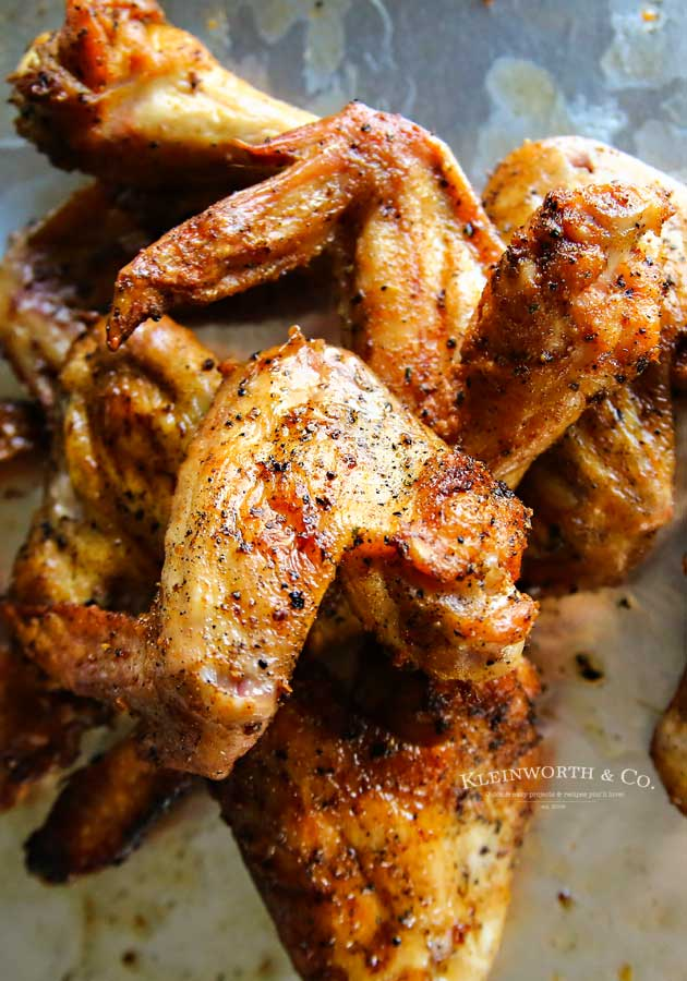 game day - Pellet Grill Chicken Wings