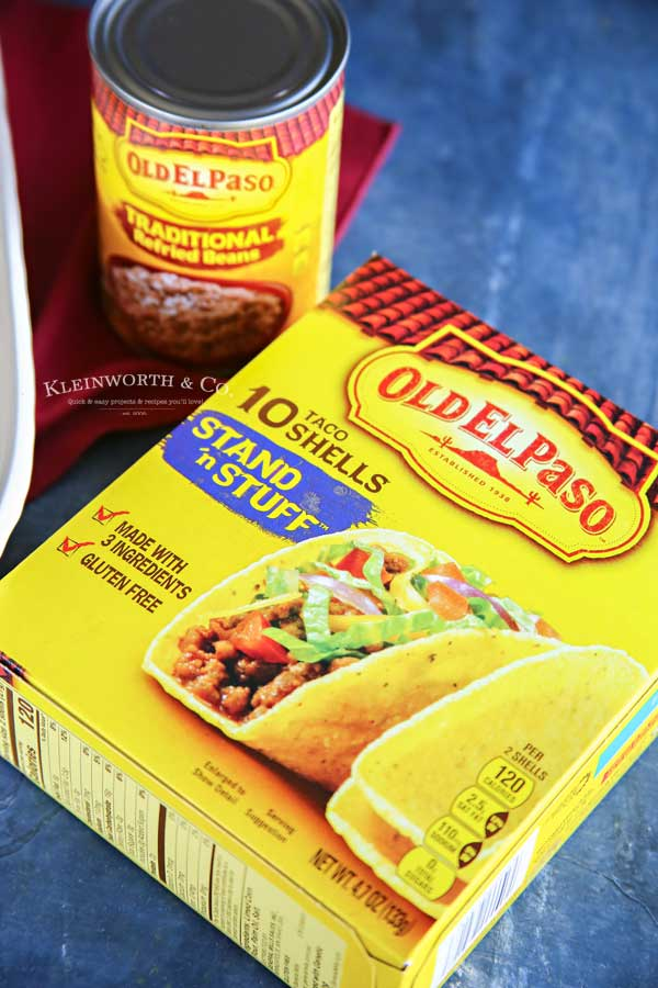 Old El Paso - Rotisserie Chicken Bacon Ranch Tacos