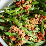 Bacon & Garlic Green Beans