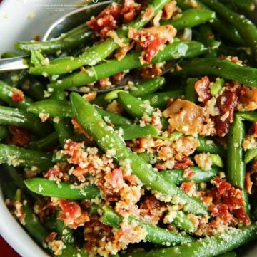 best green beans - Bacon & Garlic Green Beans