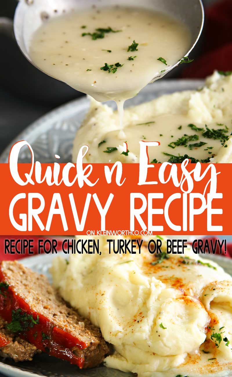 Easy Gravy Recipe