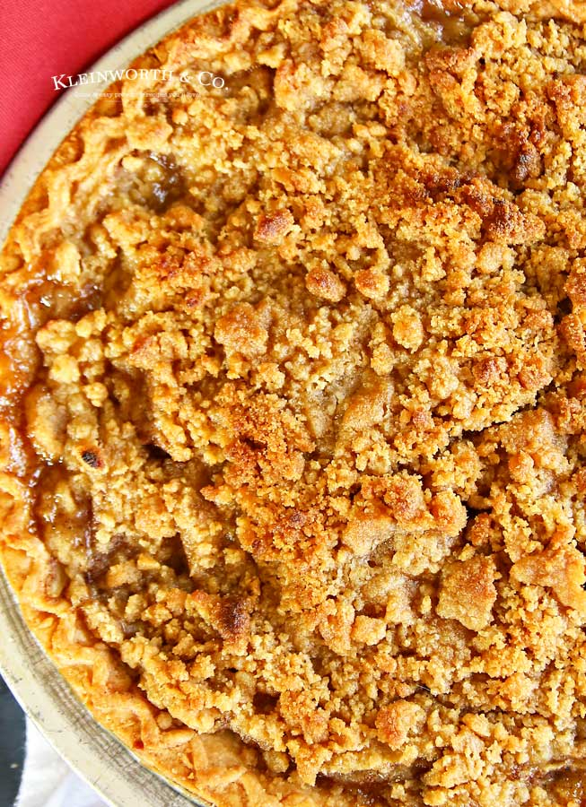crumb topping - French Apple Pie