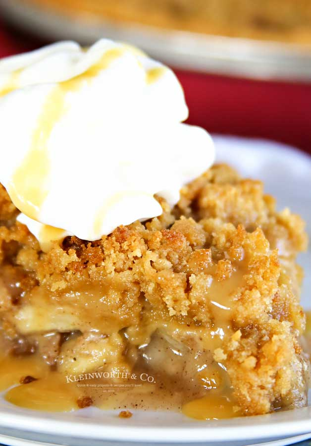 thanksgiving dessert - French Apple Pie