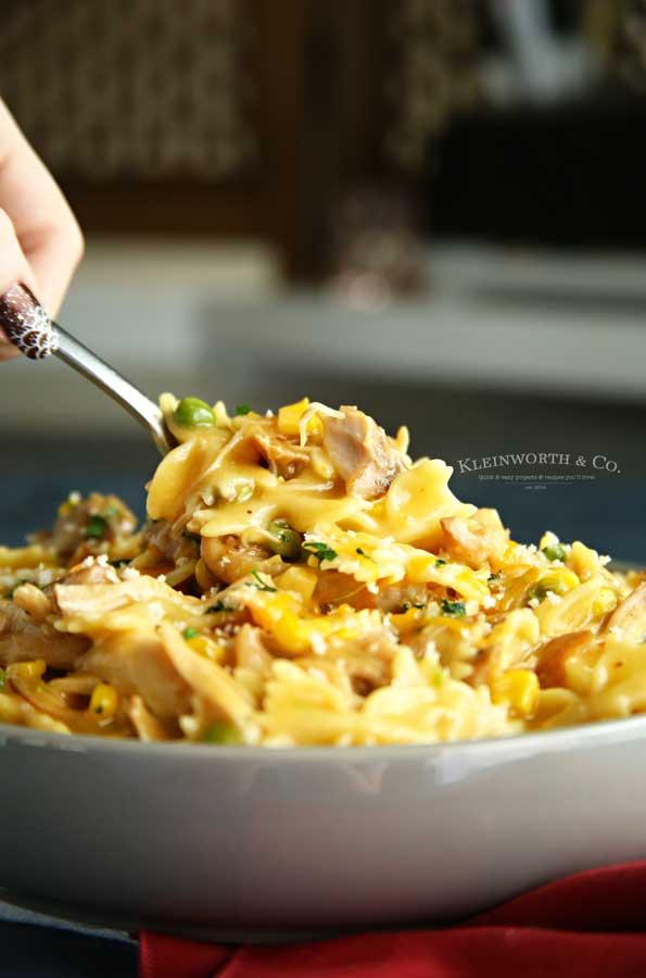 pressure cooker - Instant Pot Chicken Noodle Casserole