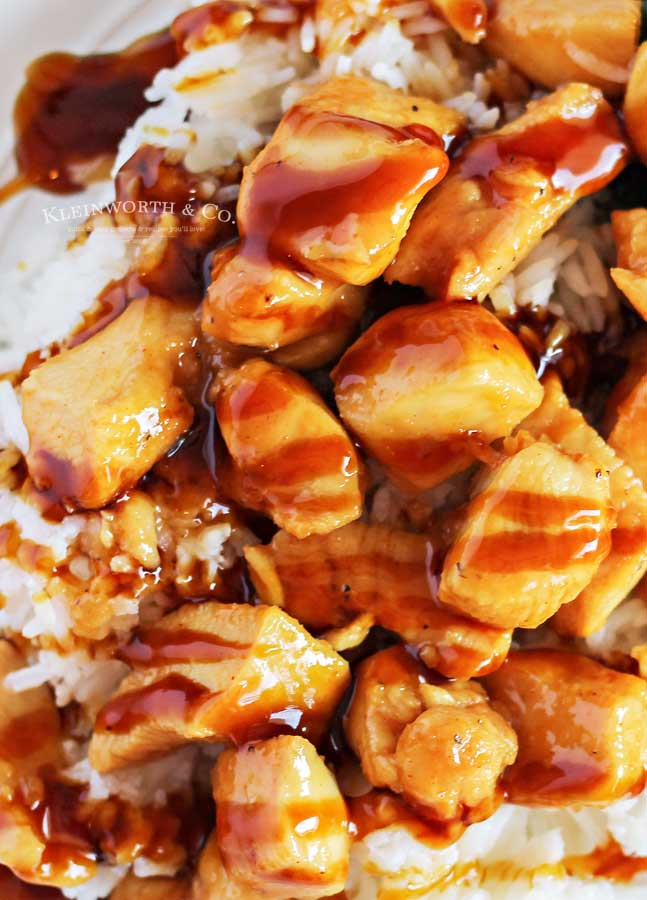Hawaiian -Pineapple Teriyaki Chicken