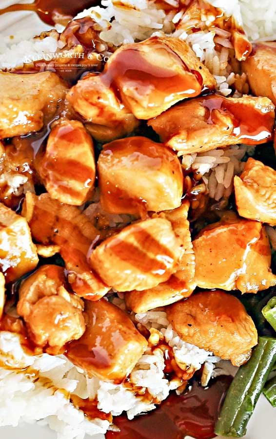 quick & easy dinner - Pineapple Teriyaki Chicken