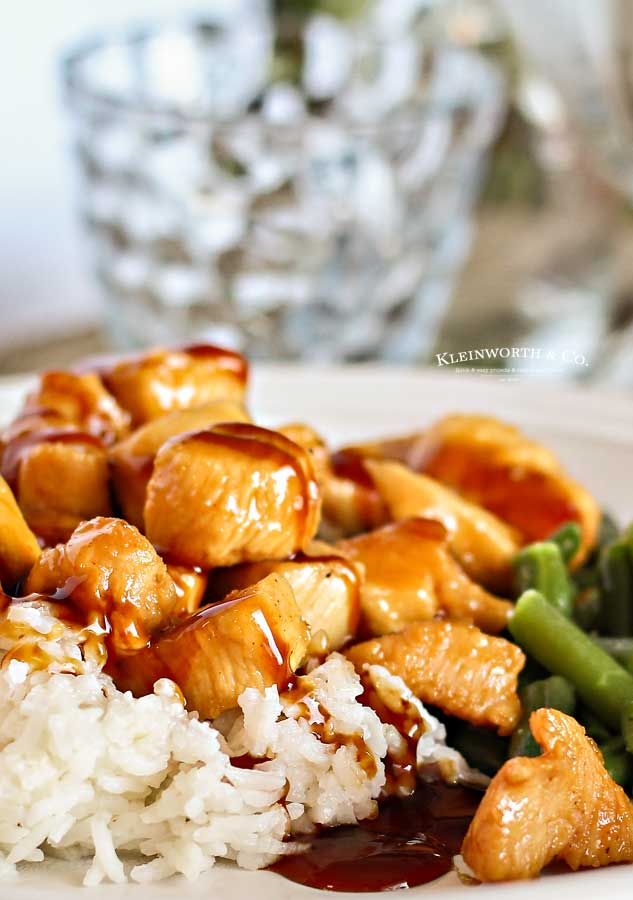 Stove top Pineapple Teriyaki Chicken
