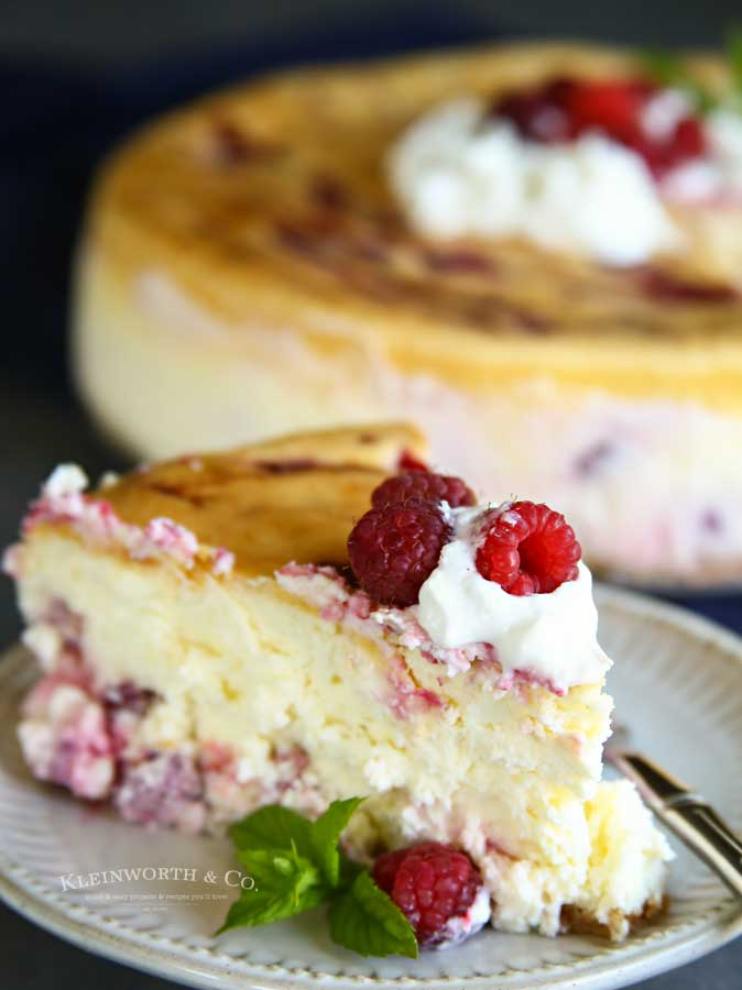 easy recipe - Raspberry Cheesecake Recipe