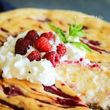how to make Raspberry Cheesecake Recipe