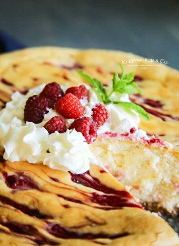 how to make Raspberry Cheesecake Recipe