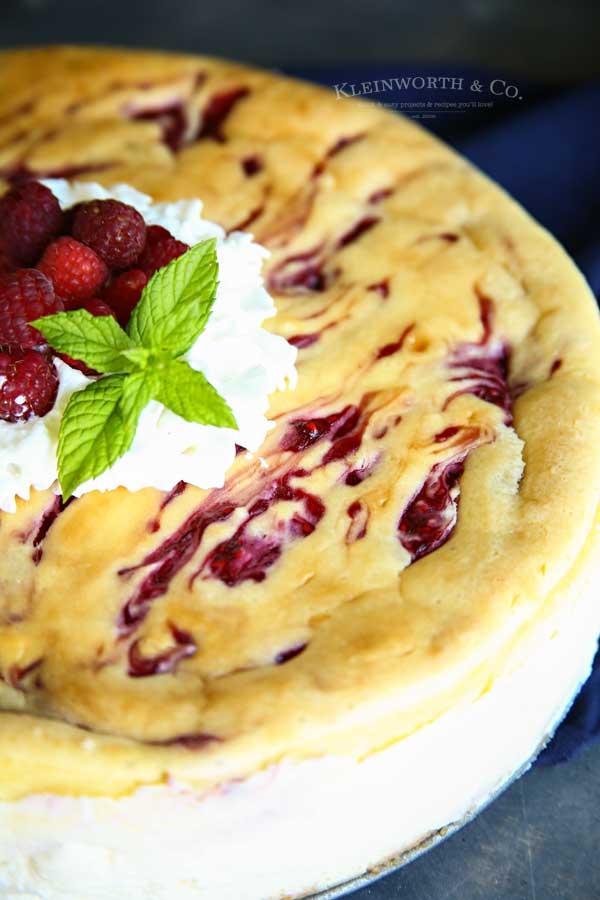 perfect cheesecake recipe - Raspberry Cheesecake Recipe