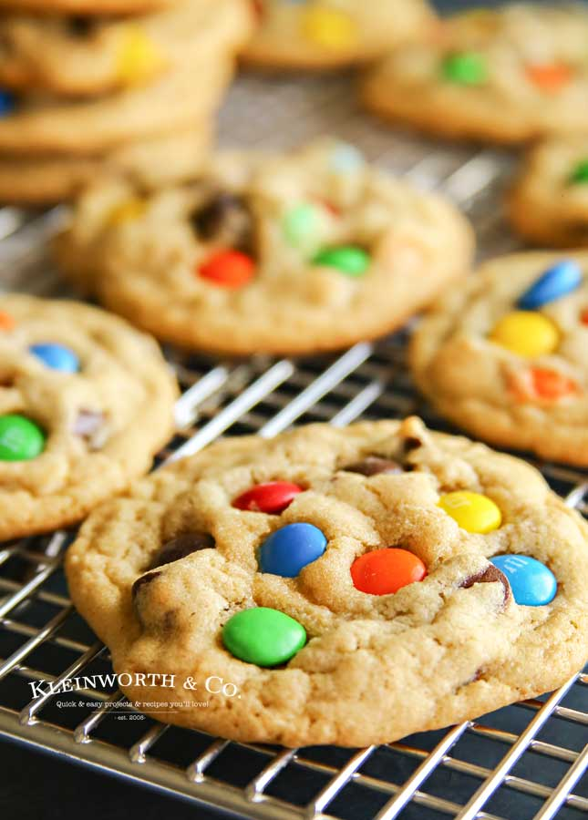 Homemade M&M Cookie Recipe
