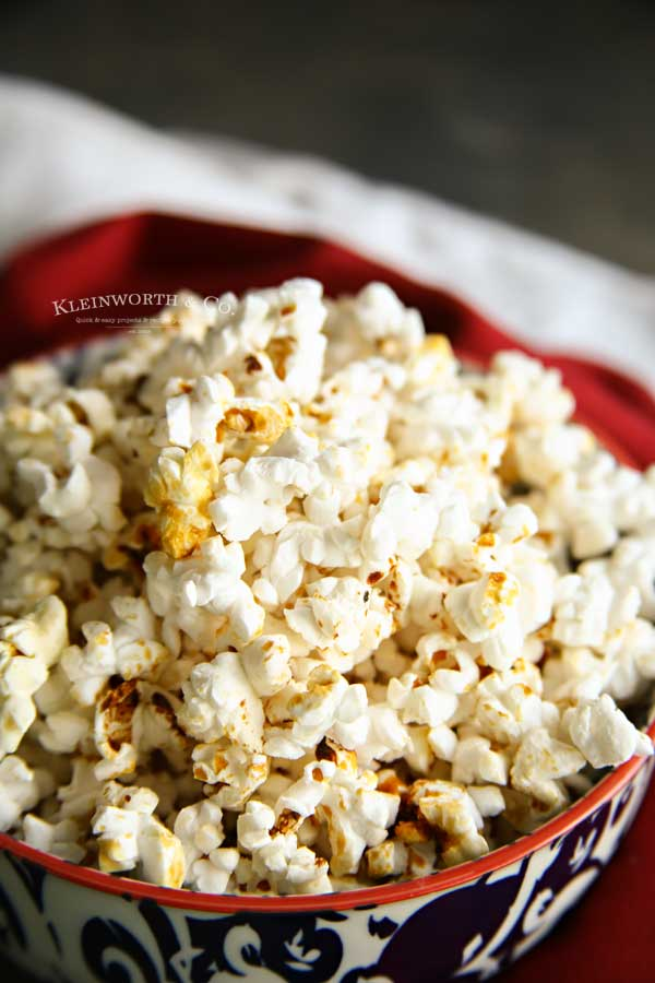 the best Homemade Kettle Corn recipe