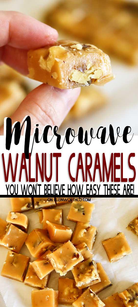 Microwave Caramel Recipe