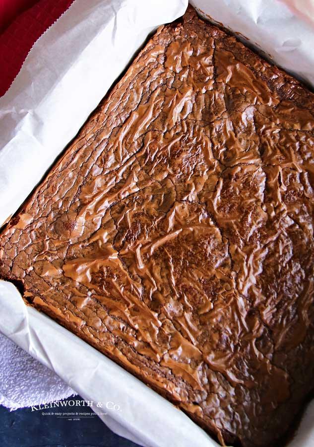 4- Ingredient Nutella Brownie Recipe