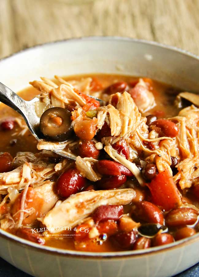 crockpot -Slow Cooker Turkey Chili
