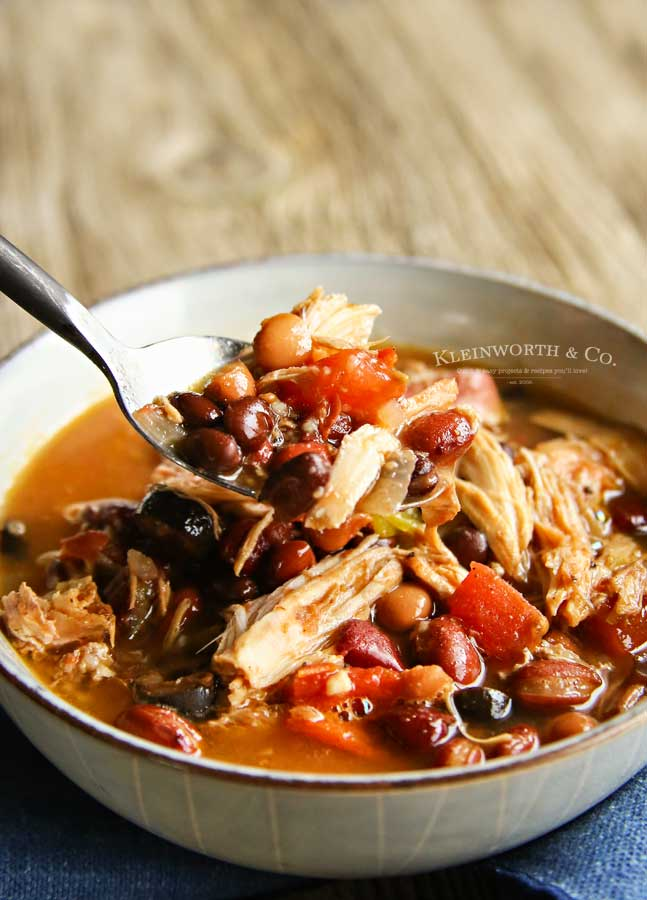easy dinner recipe - Slow Cooker Turkey Chili