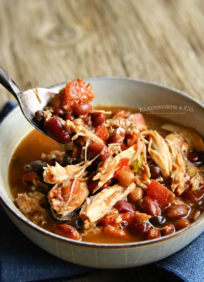 how to make Slow Cooker Turkey Chili