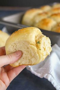 30-Minute Garlic Parmesan Dinner Rolls - how to make