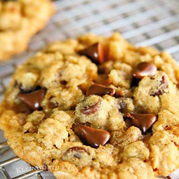 oatmeal cookies- Best Ever Cowboy Cookies