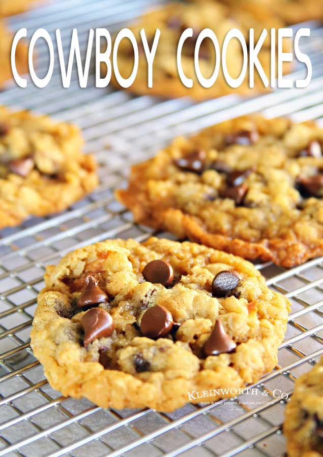 Best Ever Cowboy Cookies