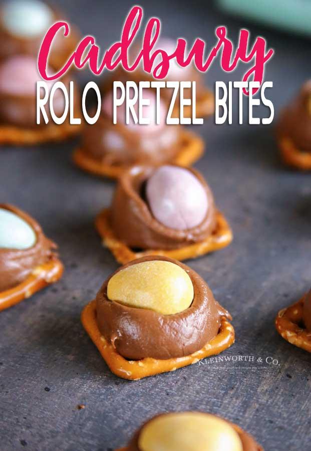 Cadbury Rolo Pretzel Bites