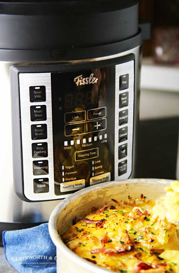 Fissler Multi Cooker - Easy Scalloped Potatoes