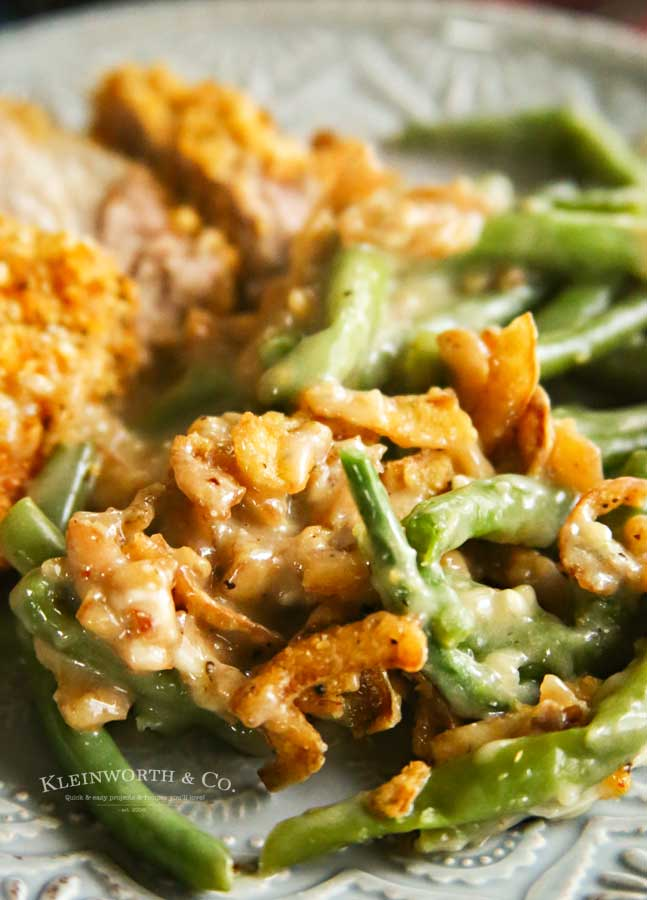 Side dish -Instant Pot Green Bean Casserole