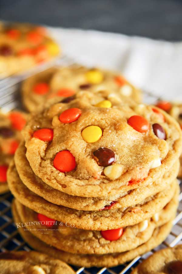 Soft Baked Reese's Cookies