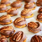 homemade candy - Rolo Pretzel Turtles
