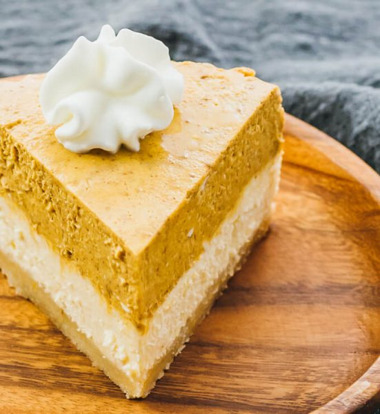 Instant Pot Pumpkin Cheesecake With Almond Crust (Keto, Low Carb)