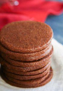 how to make Chocolate Sugar Cookies