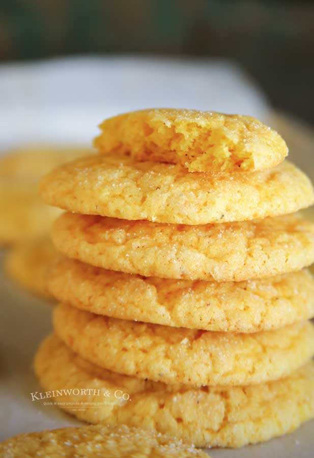 Super Easy Eggnog Cookies