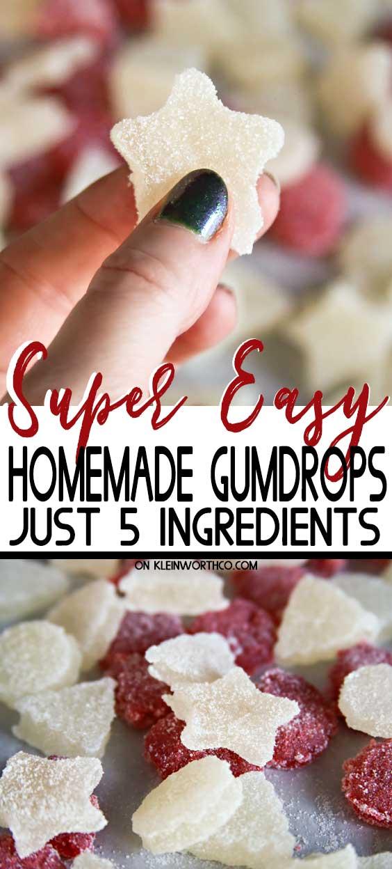 Easy Homemade Gumdrops