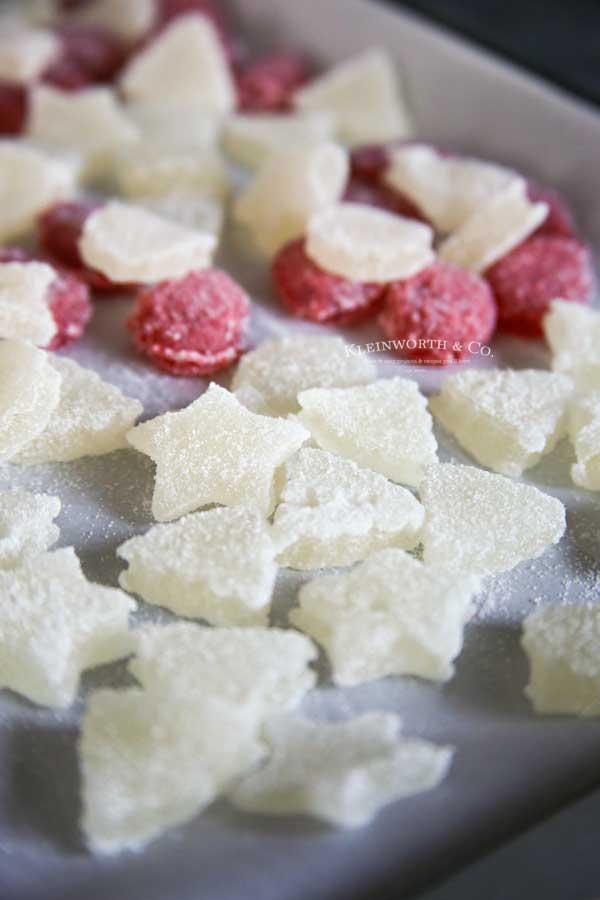 Just 5 Ingredients -Easy Homemade Gumdrops