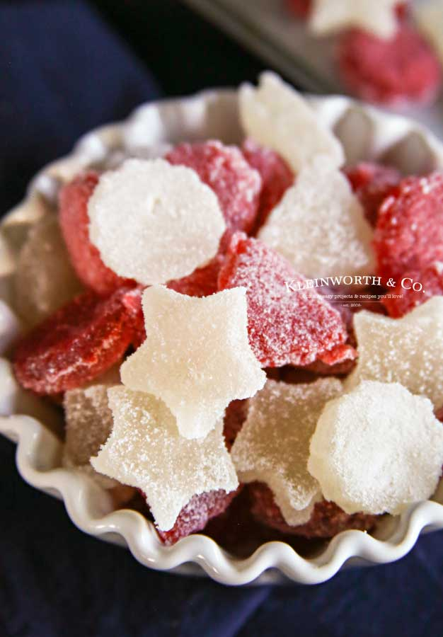 Easy Homemade Gumdrops Candy