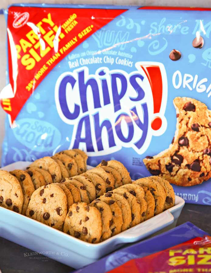 Chips Ahoy! - Easy Party Snack Ideas