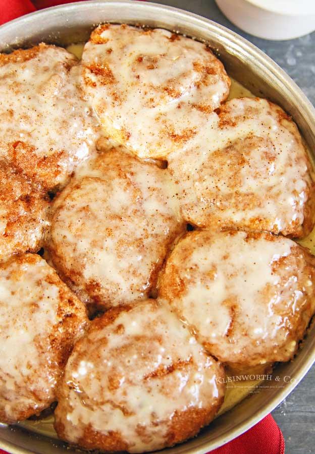 Christmas Morning - Eggnog Cinnamon Rolls