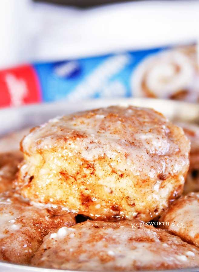 Holiday Breakfast - Eggnog Cinnamon Rolls