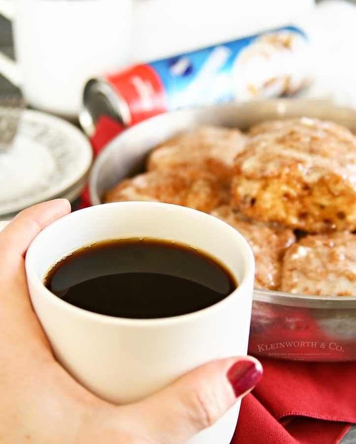Keruig coffee - Eggnog Cinnamon Rolls