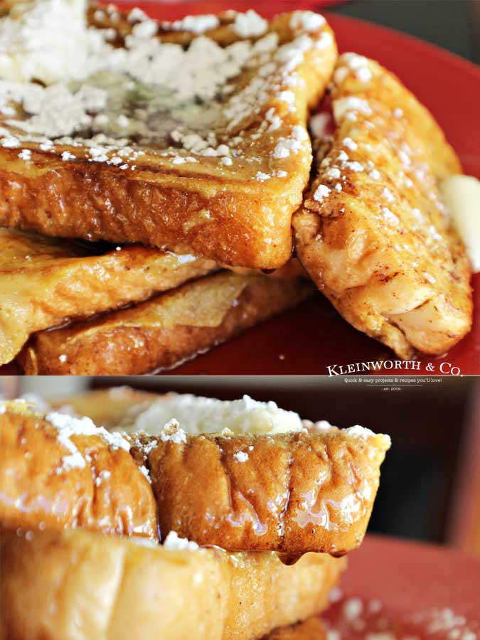 Best holiday recipe - Eggnog French Toast