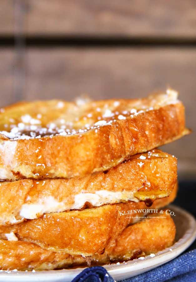 Eggnog recipes - Eggnog French Toast