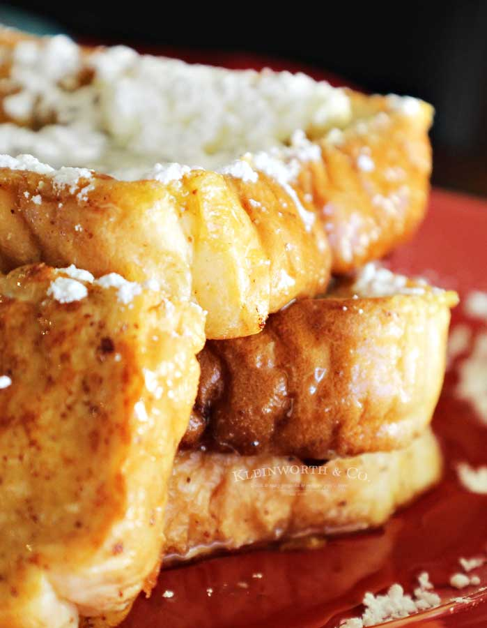 how to make Eggnog French Toast