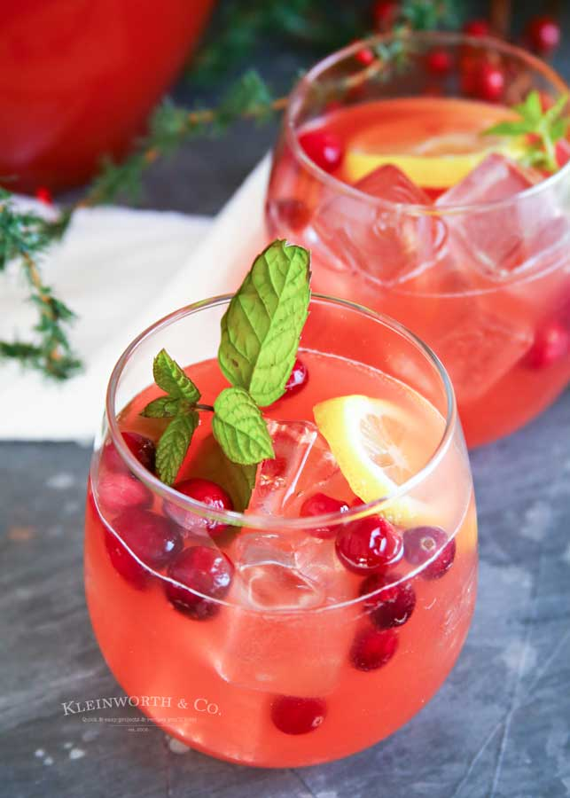 How to make Holiday Party Punch